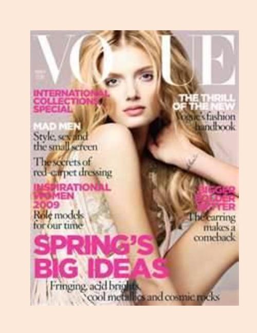Magazine Cover Karol Castillo