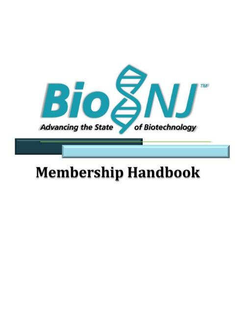 Membership Handbook WIP
