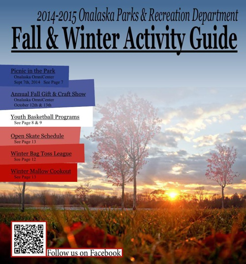 2014 Fall & Winter Activity Guide