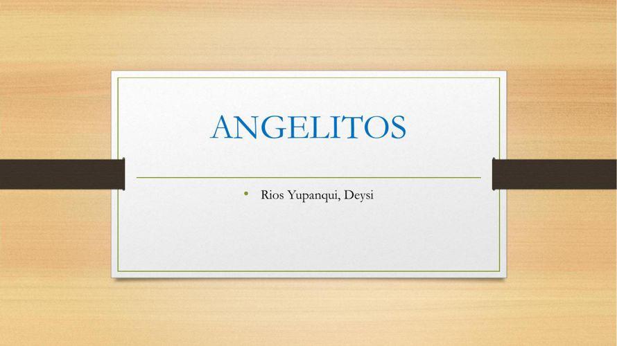 ANGELITOS 2