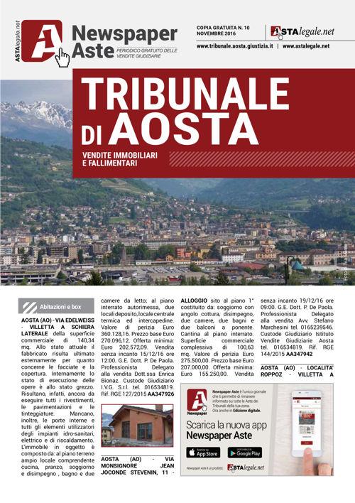 Aosta novembre 2016