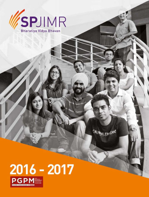 PGPM - 1 Year MBA Programme Brochure