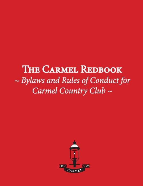 Carmel Redbook