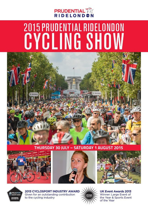 Prudential RideLondon Cycling show 2015 HR