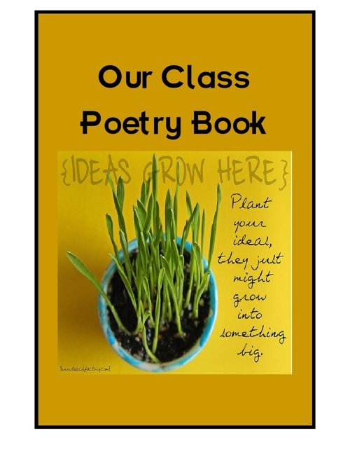 Class Poetry Book