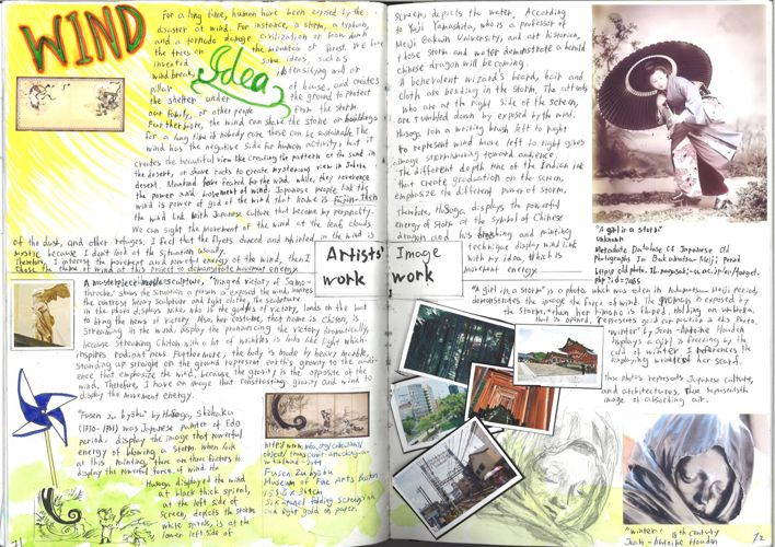 Art workbook 6