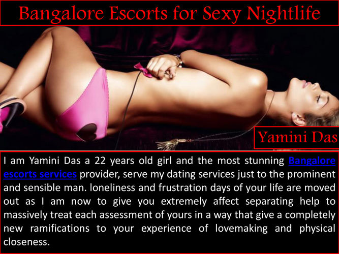 Bangalore Escorts for Sexy Nightlife