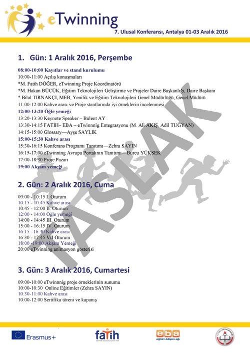 antalya programı-DRAFT
