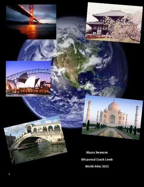 alyssa Swanson world atlas