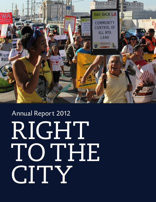 2012 Right to the City Annual Report