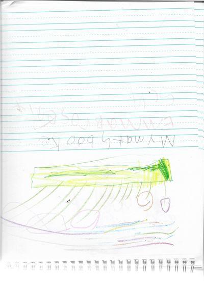 Emma Brosenitsch's subtracction story book