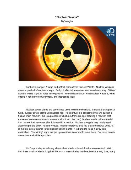 NuclearWastebyVaughn