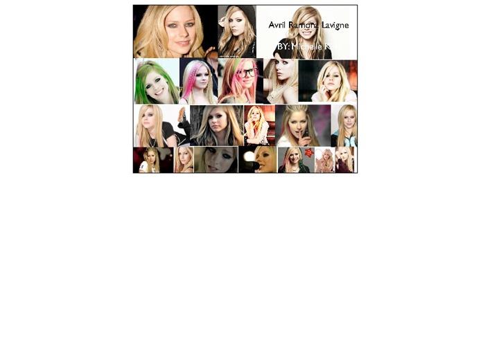 Avril Lavigne French Michelle Figaro