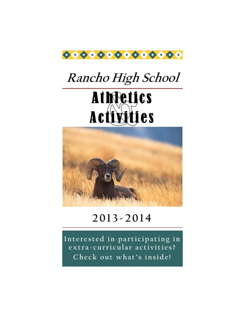 3_2013 Activities and Athletics Handout