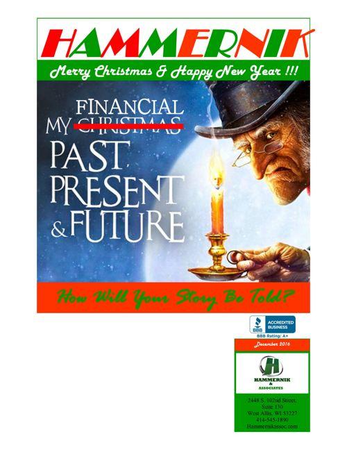 My FInancial Past, Present & Future