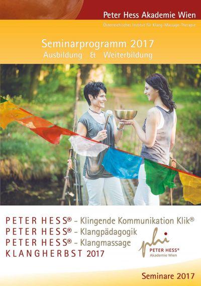 Seminarprogramm 2017 Peter Hess Akademie Wien