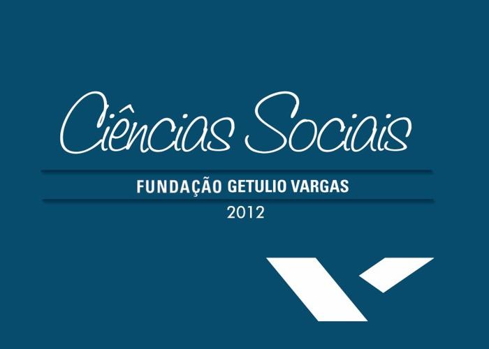 FGV CIÊNCIAS SOCIAIS 2012