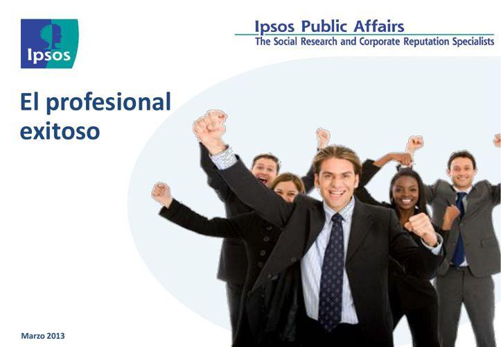 01-2 Perfil del profesional de exito IPSOS 2013 (1)
