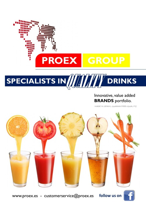 PROEX 2013 ON-LINE DRINKS CATALOGUE