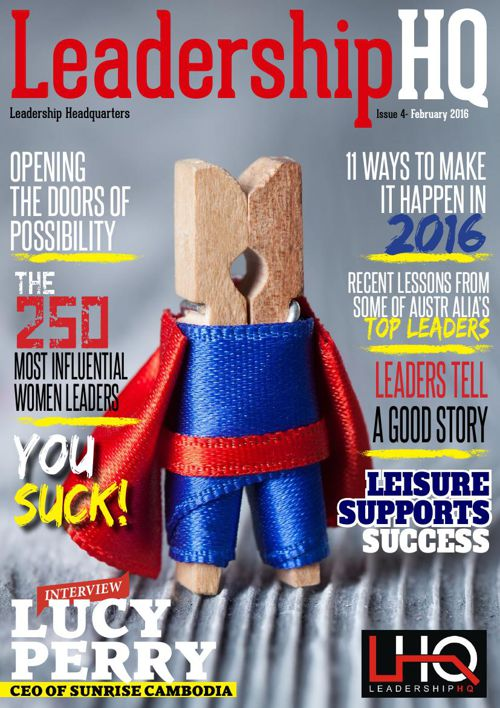 LeadershipHQ Magazine Issue 4 February 2016