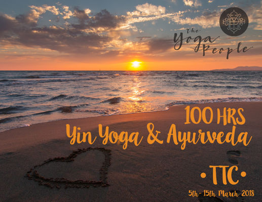 100 hrs Yin and Ayurveda TTC- Goa 2018