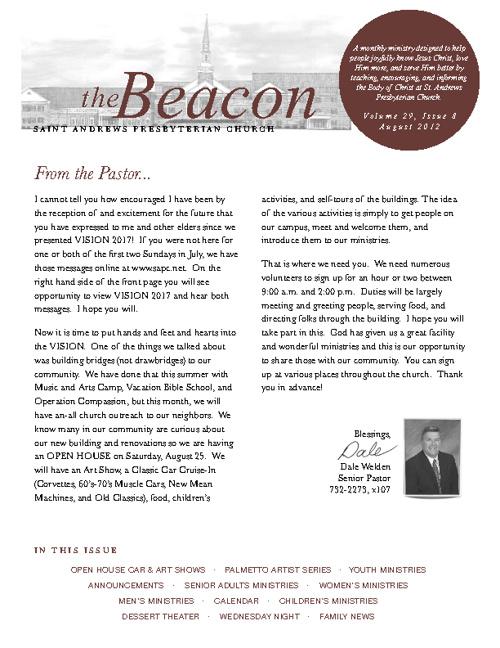 August 2012 Beacon