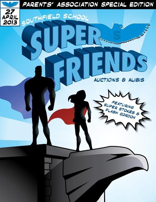 Super Friends Auctions & Alibis Book