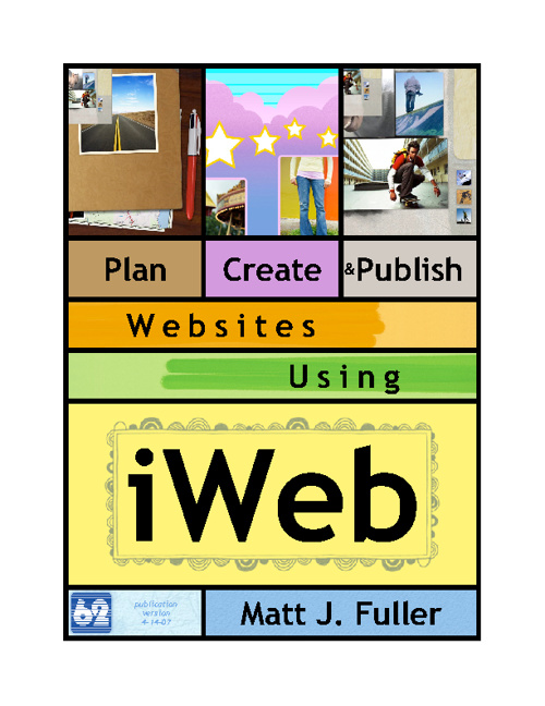 Plan, Create, Publish using iWeb