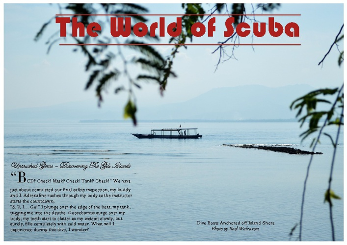 The World of Scuba - Discovering The Gili Islands - Roel W