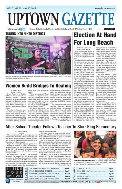 Uptown Gazette 5-30-14