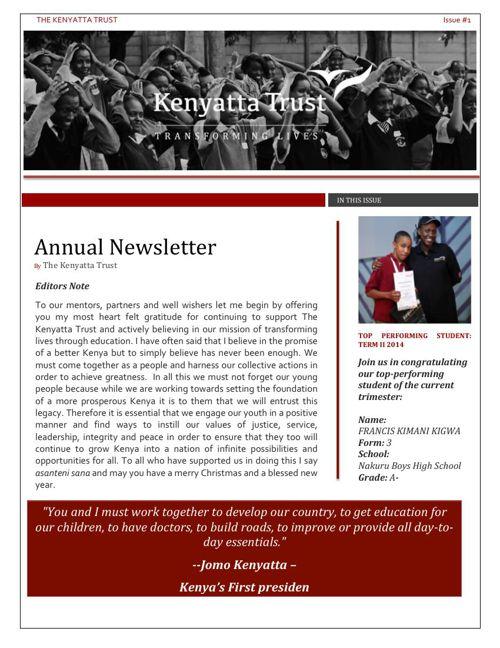 Trust Newsletter issue 10.12.14
