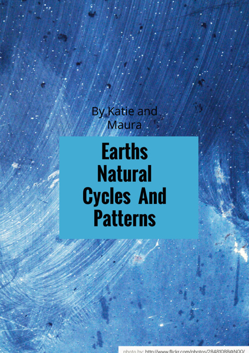 Earths Natural Cycles And Patterns
