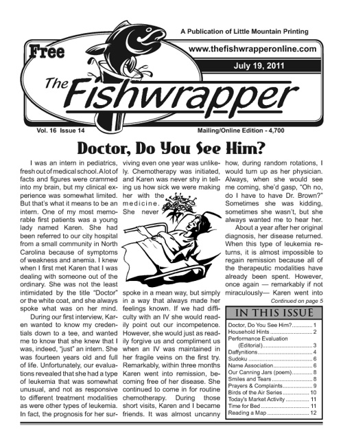 The Fishwrapper