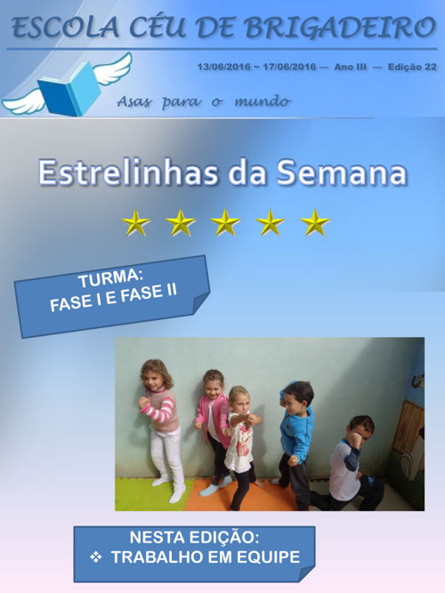 FASE I E FASE II EDIÇÃO 22