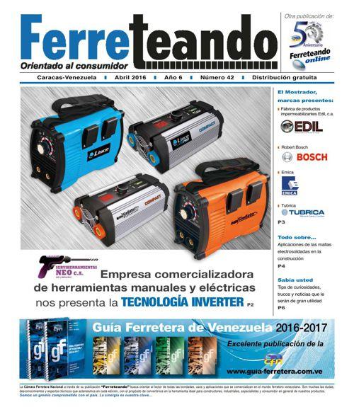 FERRETEANDO edición 42 abril 2016