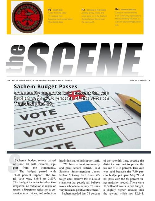 The SCENE: June 2013
