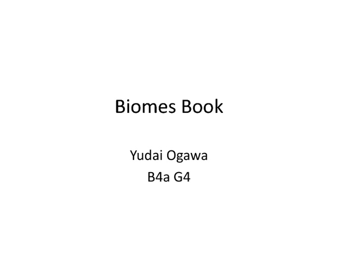 Biomebookyudaio