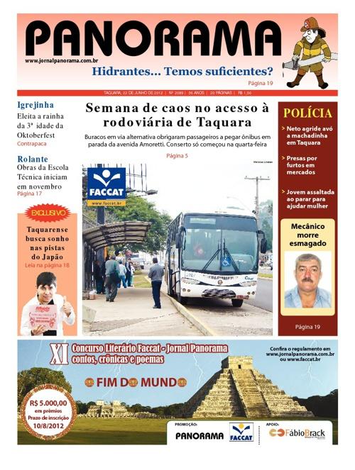 Panorama 22/06/2012 - Taquara/RS