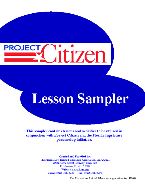 Project Citizen Packet