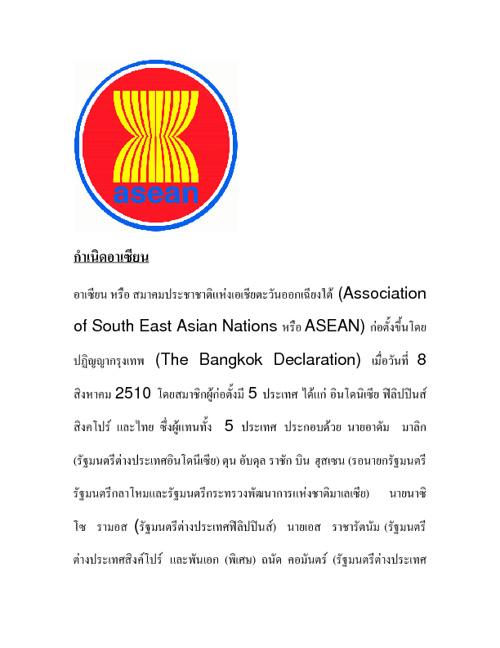 กลุ่มในอาเซียน - อินโดนิเซีย