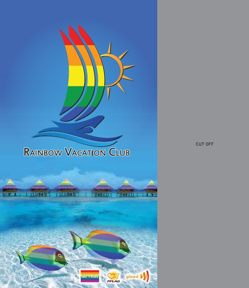 Rainbow Vacation Club Step Cards