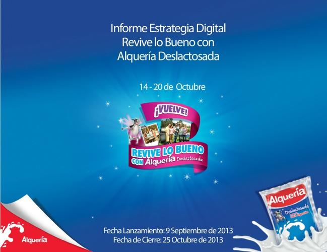 Reporte Estrategia Digital Revive lo Bueno 14 - 20 Oct