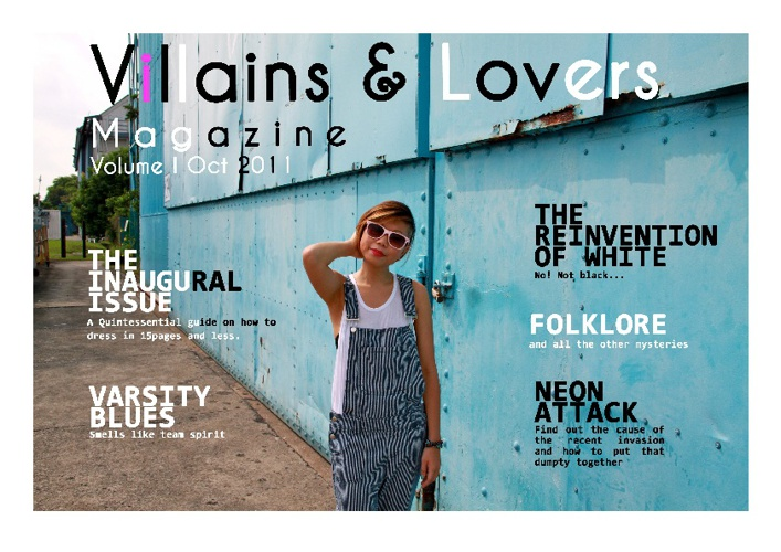 Villains & Lovers Issue No.1
