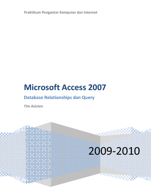Modul MS Access1