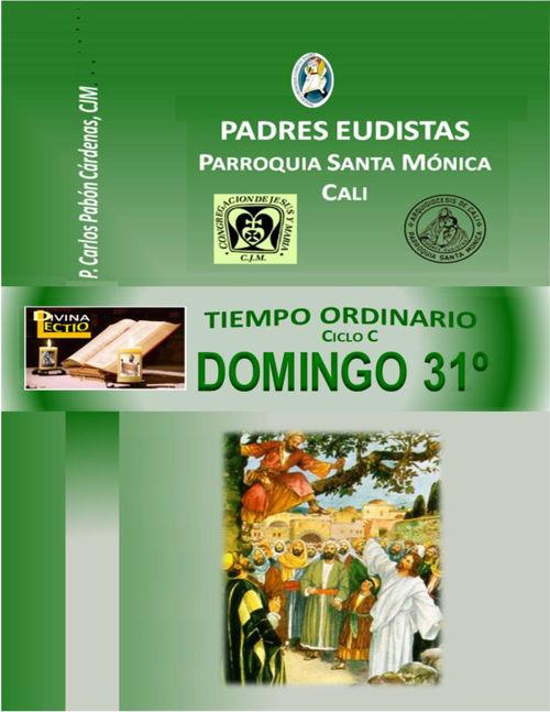 DOMINGO 31º T.O CICLO  C