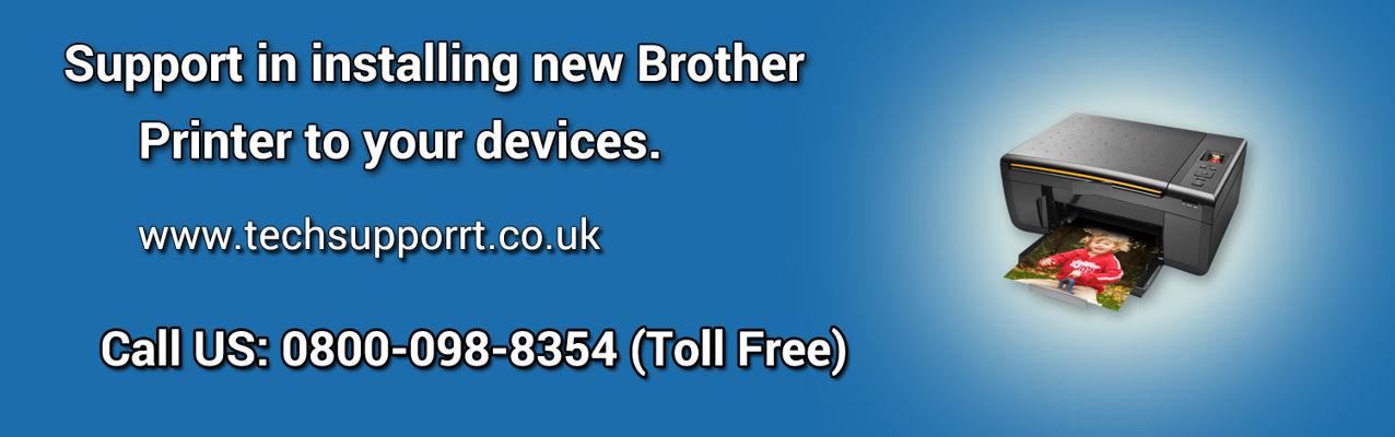 Brother-Printer Help Number UK