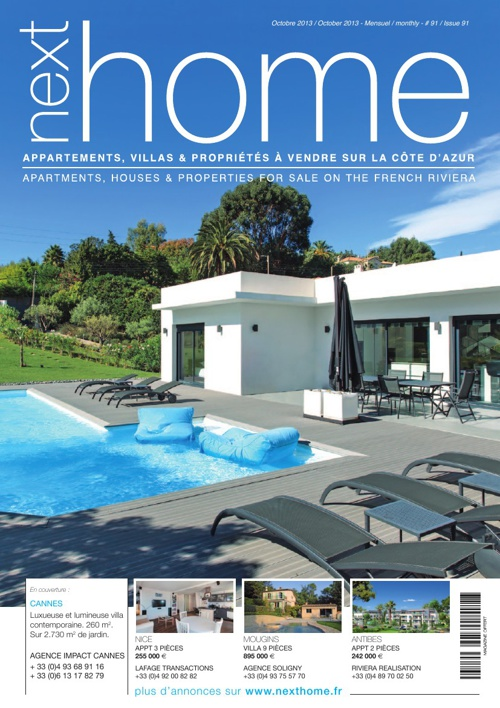 Magazine Nexthome Octobre 2013