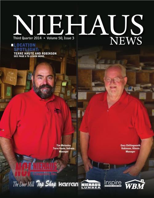 Niehaus Newsletter 3rd Quarter, 2014
