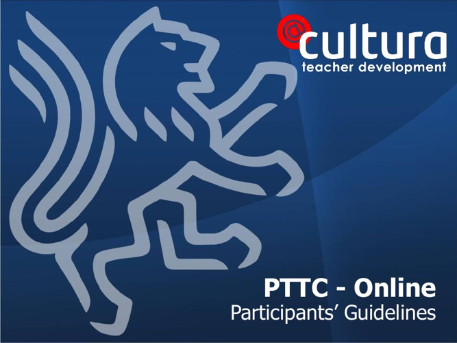 PTTC guidelines