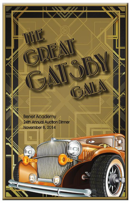 The Great Gatsby Gala Program
